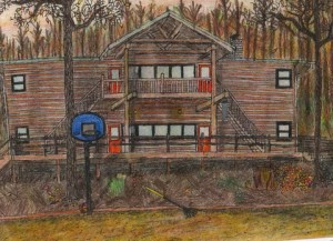 Harry's Drawing of the CCBS Lodge
